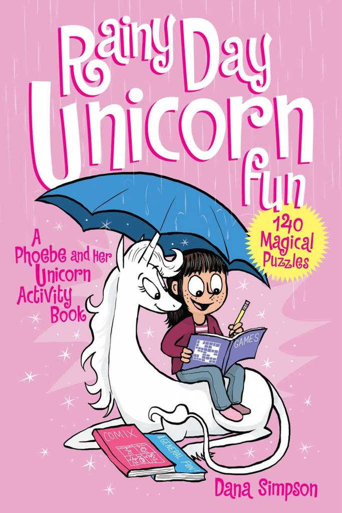 Andrews McMeel Publishing Phoebe and Her Unicorn: Rainy Day... Fun (Activity Book)