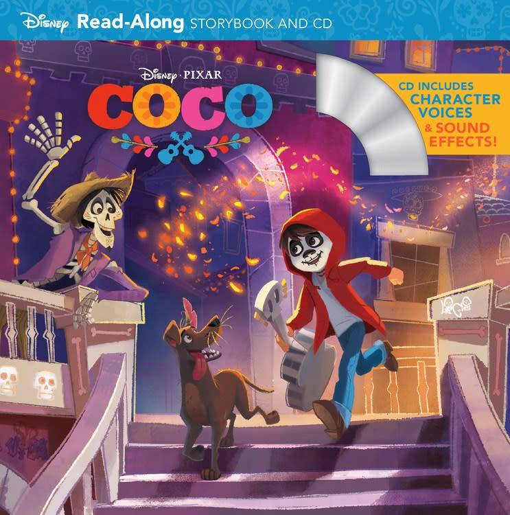Disney Press Pixar Coco Read Along Storybook And CD