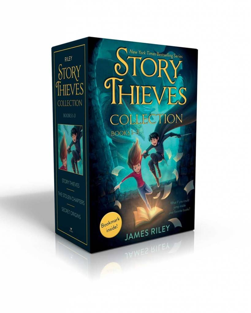 Aladdin Story Thieves Collection Books 1-3 (Bookmark inside!)