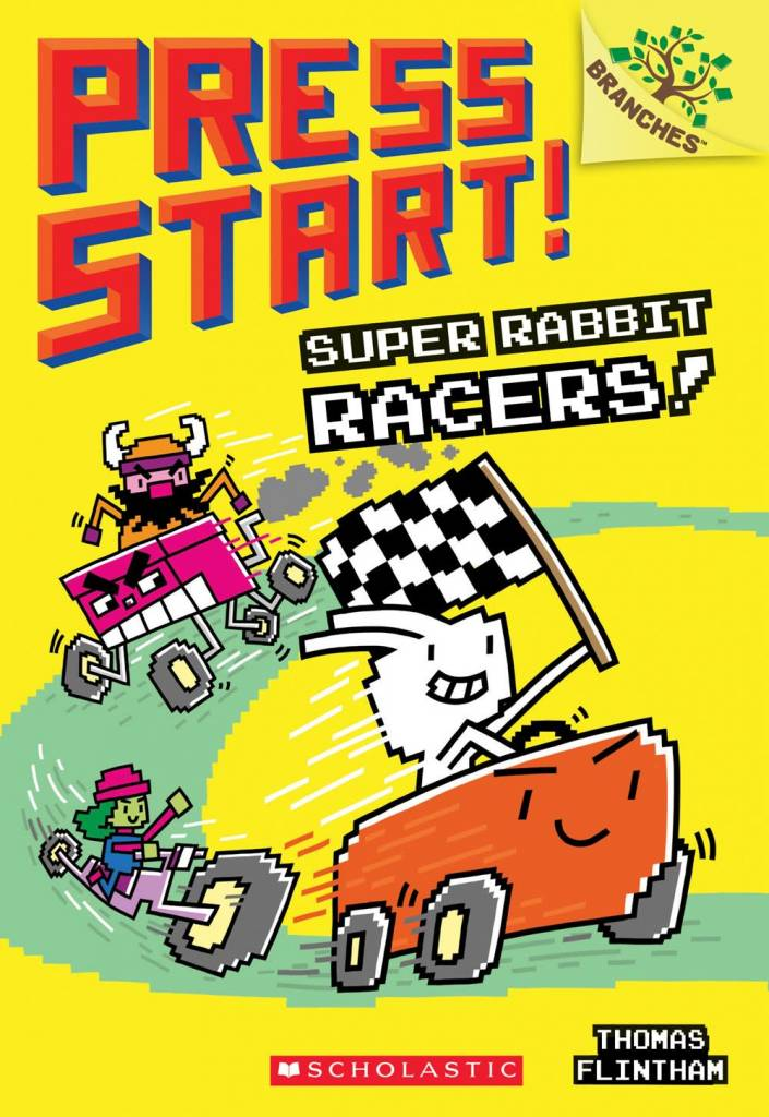 Branches Press Start! 03 Super Rabbit Racers!: A Branches Book