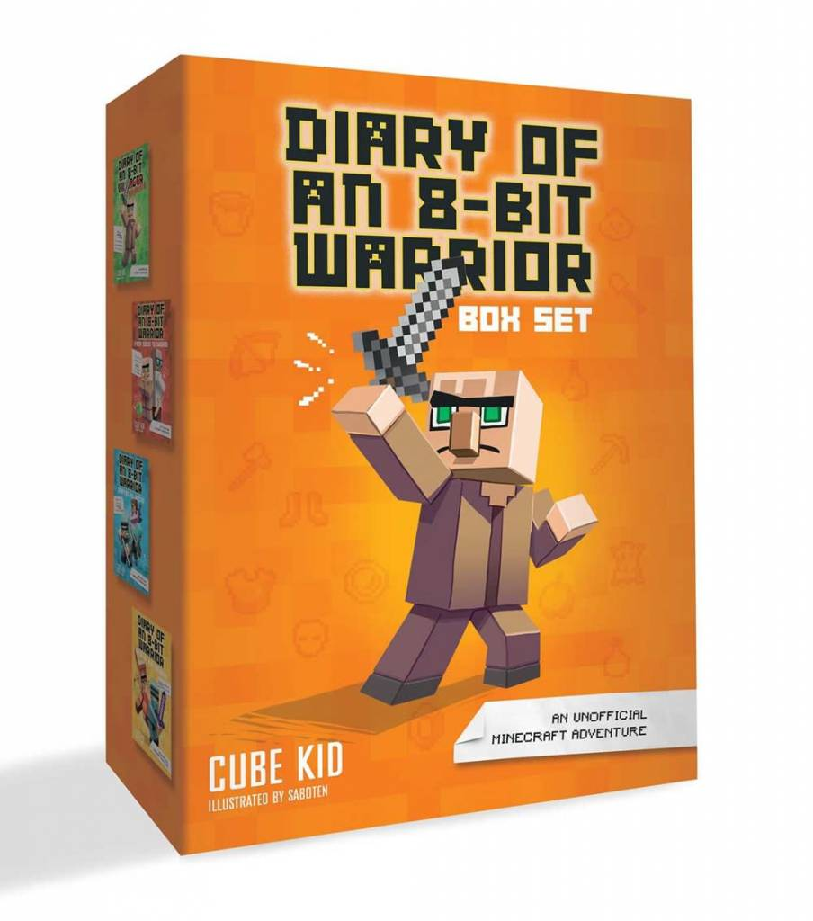 Andrews McMeel Publishing Minecraft: Diary of an 8-Bit Warrior Boxed Set (#1-4)