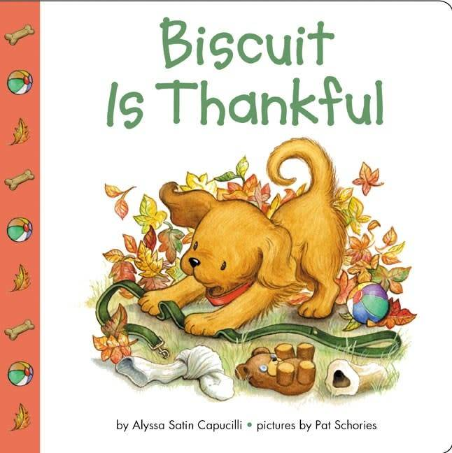 Biscuit: Biscuit Is Thankful (Board Book)