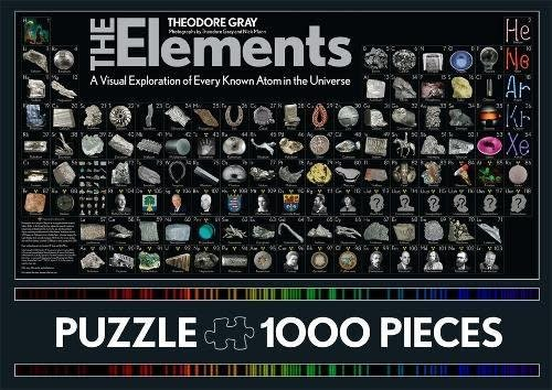 Black Dog & Leventhal Elements Puzzle (1000 Pieces)