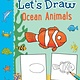 Bloomsbury Activity Books Let's Draw: Ocean Animals