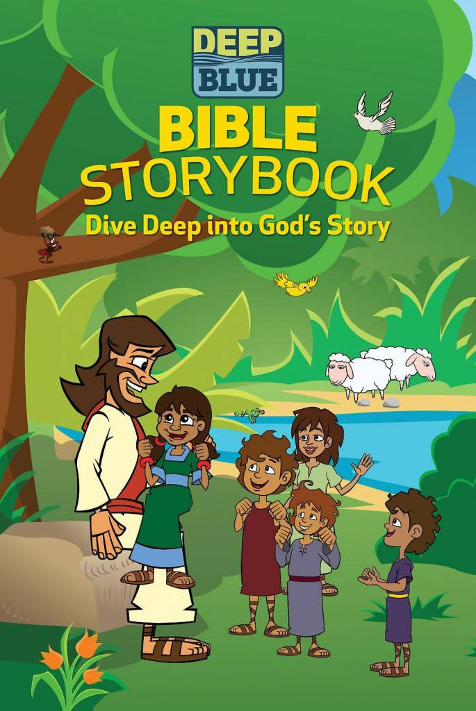 Abingdon Press Deep Blue: Bible Storybook: Dive Deep Into God's Story