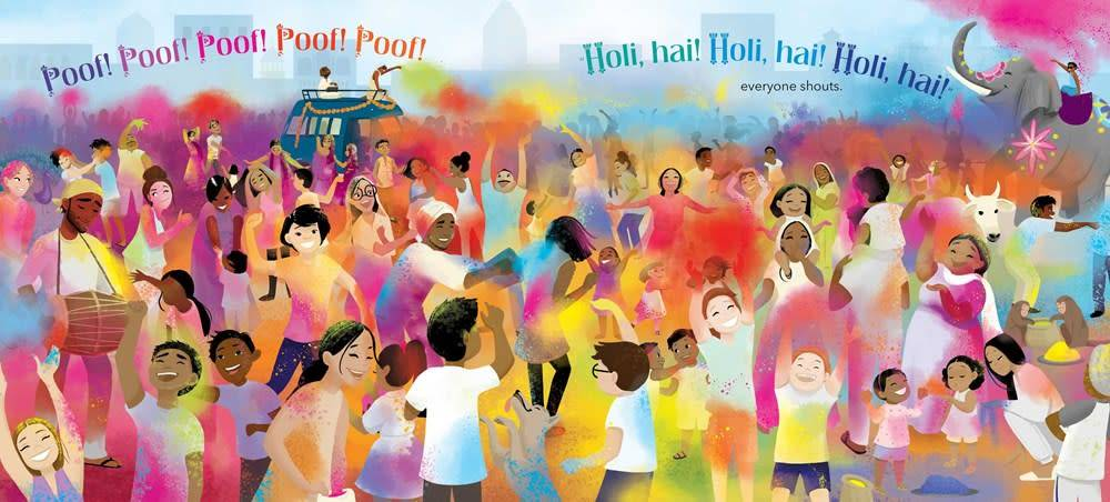 Beach Lane Books Festival of Colors: Holi Hai