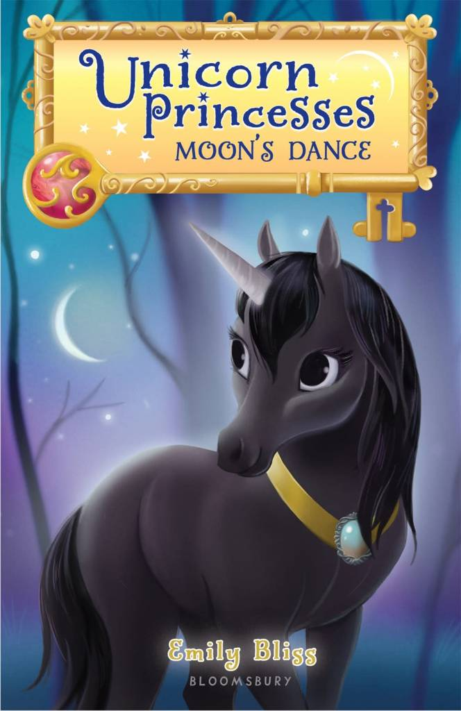 Bloomsbury USA Childrens Unicorn Princesses 6: Moon's Dance