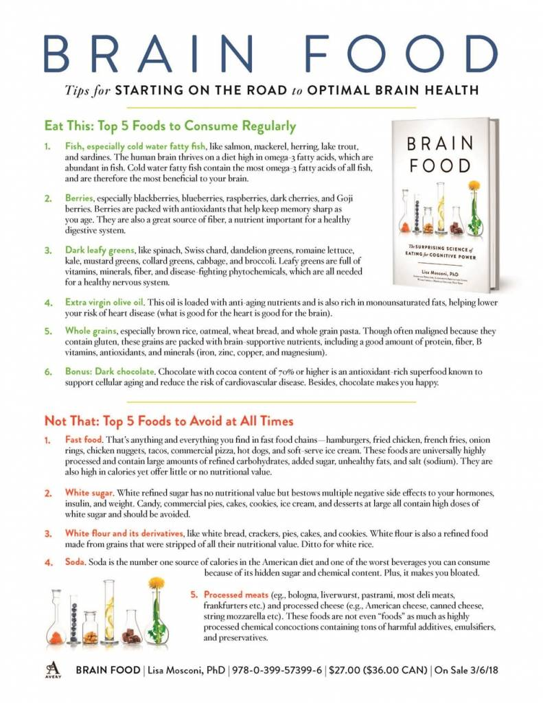 Avery Brain Food