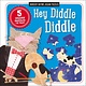 Make Believe Ideas Nursery Rhyme Jigsaw Puzzles: Hey Diddle Diddle
