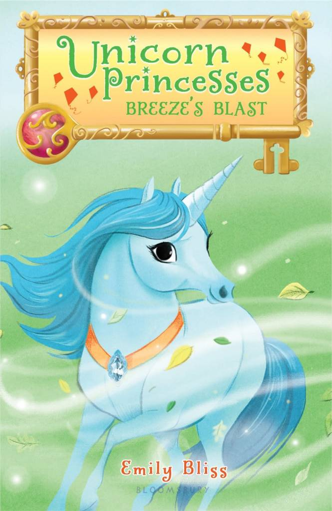 Bloomsbury USA Childrens Unicorn Princesses 5: Breeze's Blast
