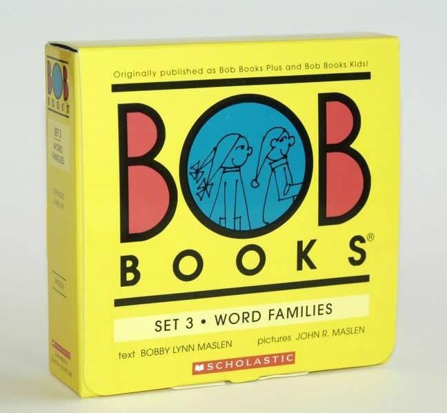 BOB Books 03 Word Families (8 Mini-Books)