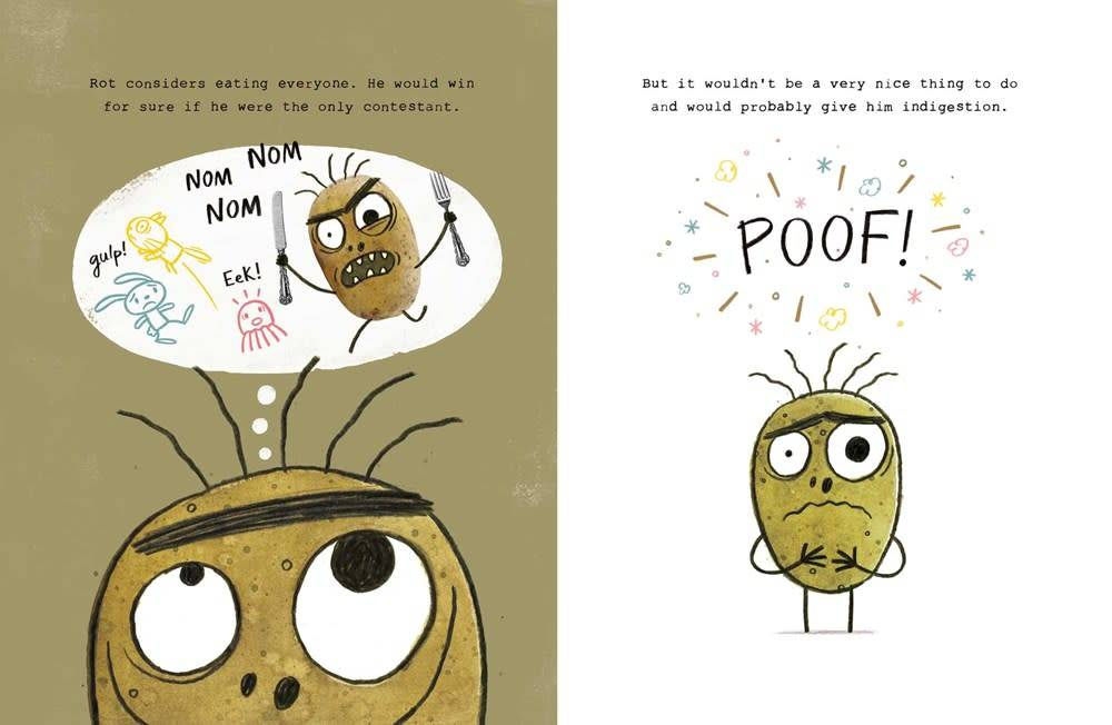 Atheneum Books for Young Readers Rot, the Cutest in the World!