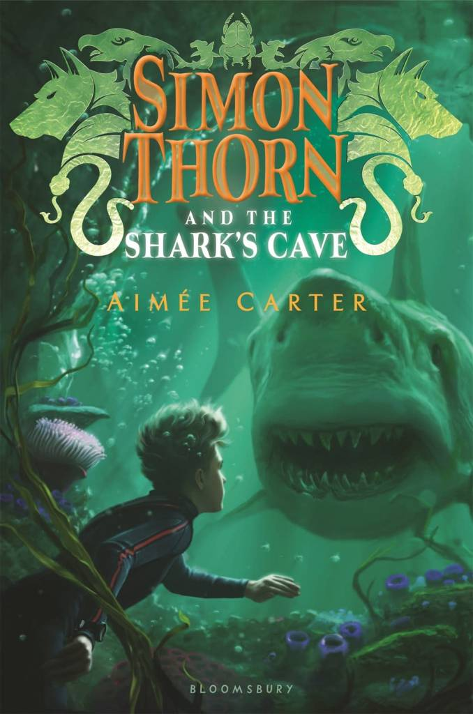 Bloomsbury USA Childrens Simon Thorn and the Shark's Cave