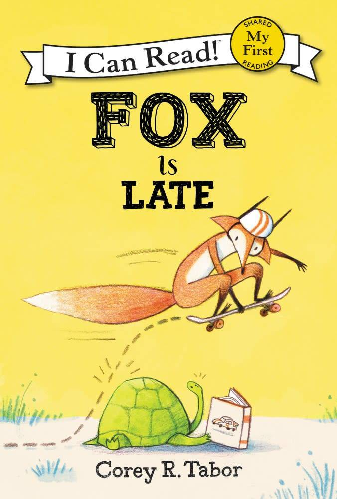 Balzer + Bray Fox: Is Late (I Can Read!, Lvl Pre-1)