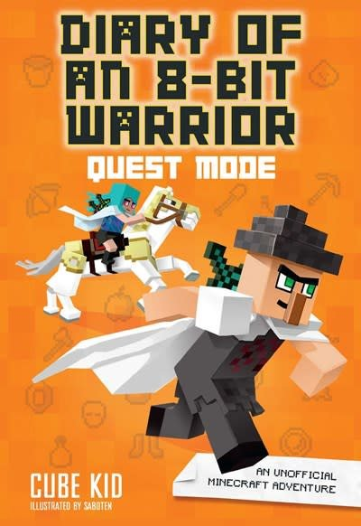 Andrews McMeel Publishing Diary of an 8-Bit Warrior: Quest Mode (Book 5 8-Bit Warrior series)