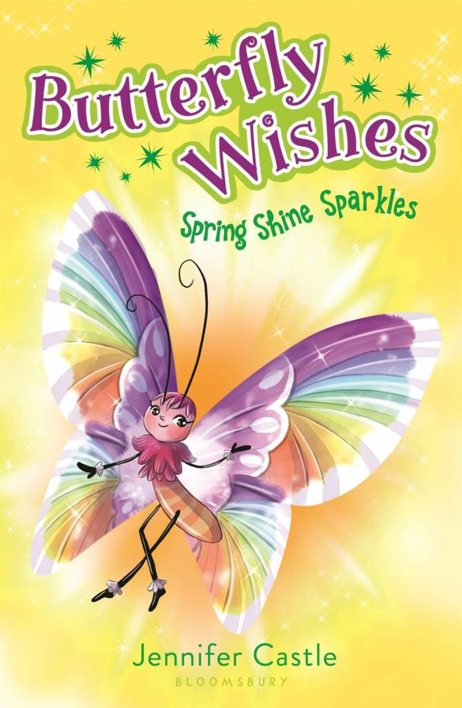 Bloomsbury USA Childrens Butterfly Wishes 4: Spring Shine Sparkles