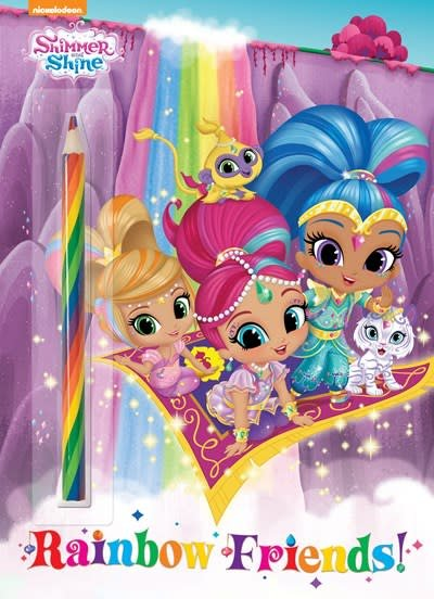 Golden Books Rainbow Friends Shimmer And Shine