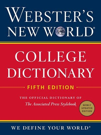 Webster's New World Webster's New World College Dictionary, Fifth Edition