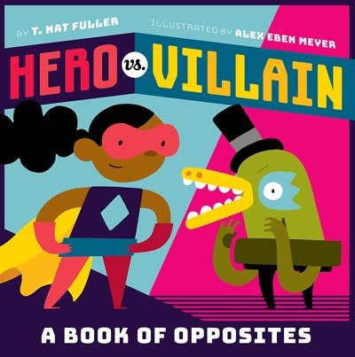 Abrams Appleseed Hero vs. Villain
