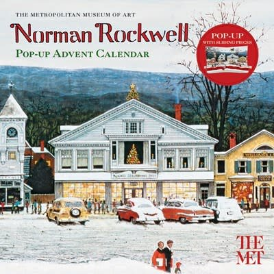 Abrams Calendars Norman Rockwell Pop-up Advent Calendar