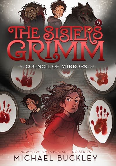 Amulet Paperbacks The Council of Mirrors (The Sisters Grimm #9)