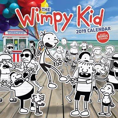 Abrams Calendars The Wimpy Kid 2019 Wall Calendar