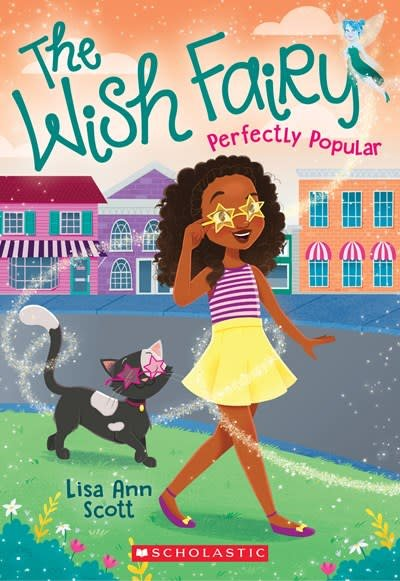Scholastic Paperbacks Perfectly Popular The Wish Fairy 3 Linden