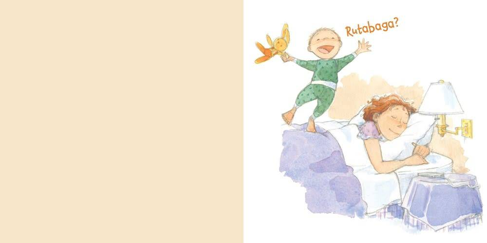 Atheneum Books for Young Readers Rutabaga Boo! [Mother and Son, Separation, I Love You]