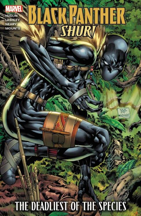 Marvel Black Panther: Shuri - The Deadliest of the Species