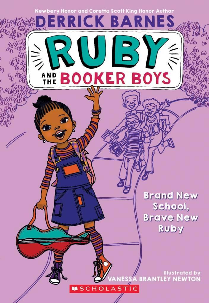 Scholastic Paperbacks Ruby and the Booker Boys 01 Brand New School, Brave New Ruby