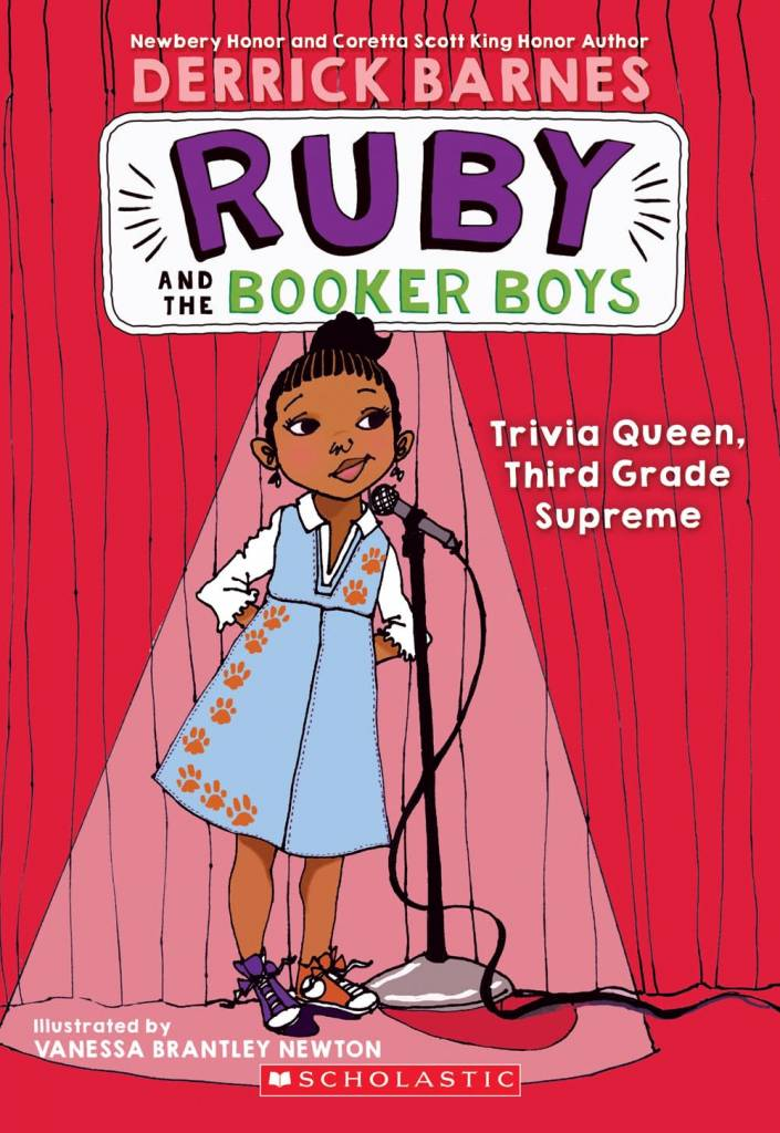 Scholastic Paperbacks Ruby and the Booker Boys 02 Trivia Queen, Third Grade Supreme