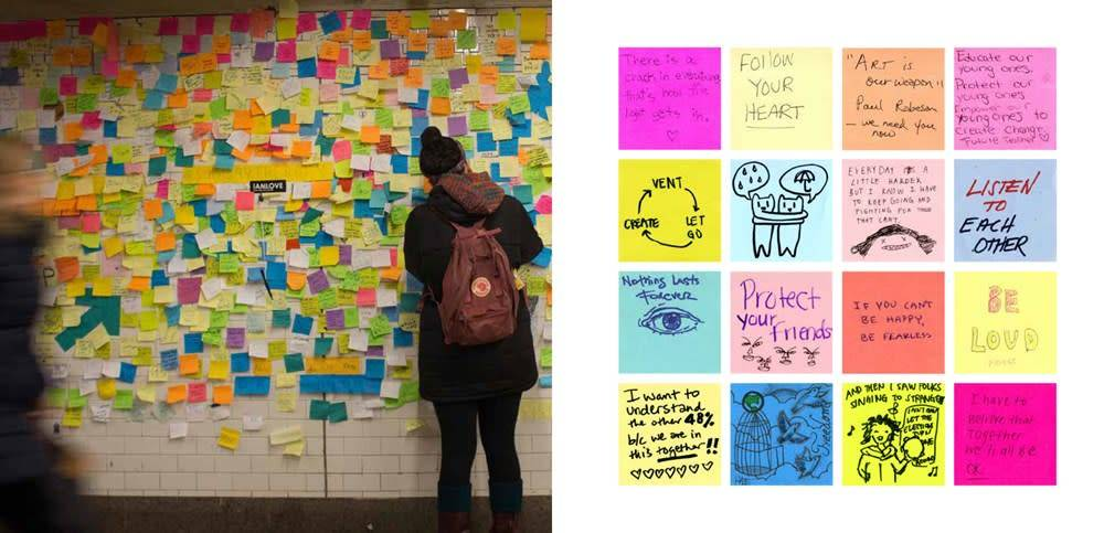 Bloomsbury USA Signs of Hope: messages from subway therapy