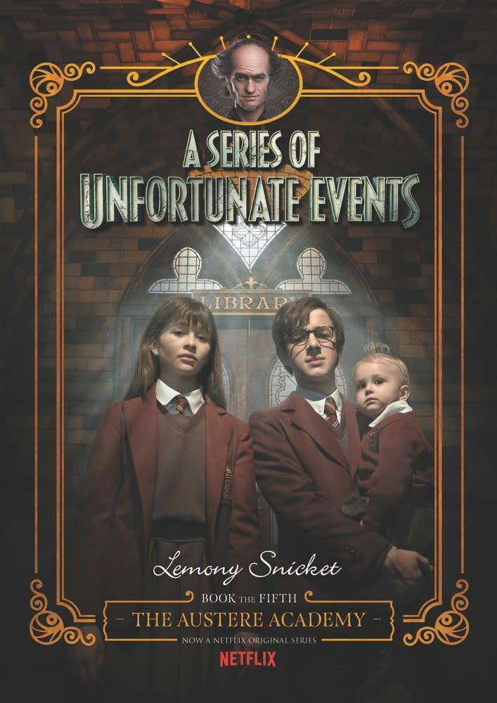 HarperCollins Series of Unfortunate Events 05 Austere Academy (Netflix)