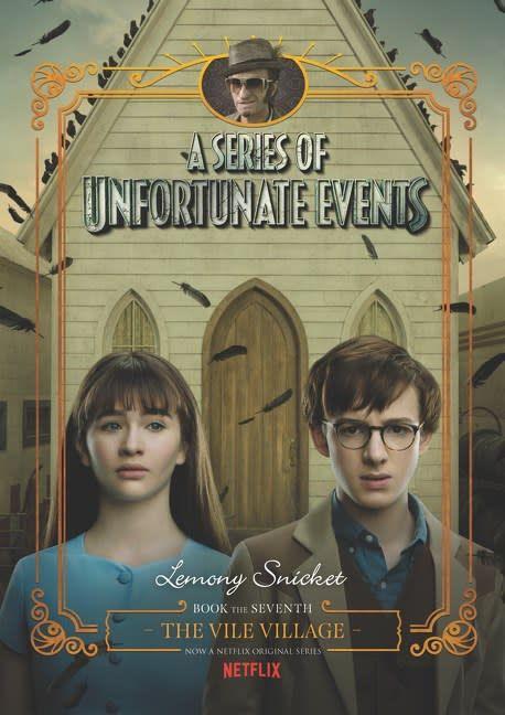 HarperCollins Series of Unfortunate Events 07 The Vile Village (Netflix)