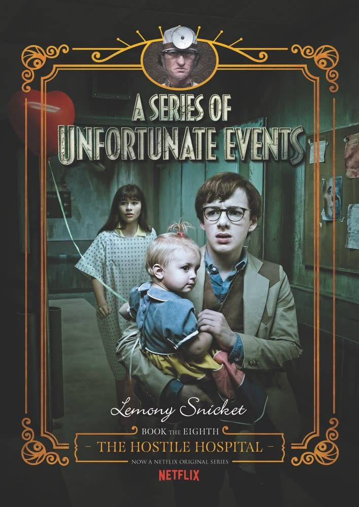 HarperCollins Series of Unfortunate Events 08 Hostile Hospital (Netflix)