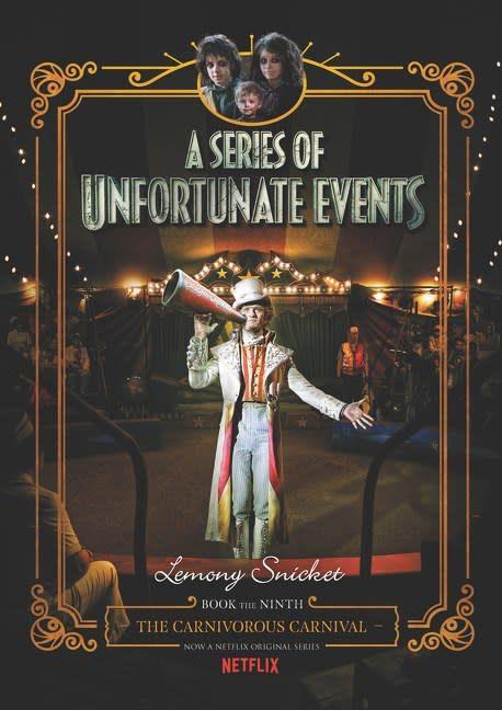 HarperCollins Series of Unfortunate Events 09 Carnivorous Carnival (Netflix)