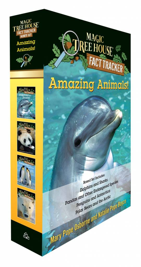 Random House Books for Young Readers Amazing Animals! Magic Tree House Fact Tracker Boxed Set