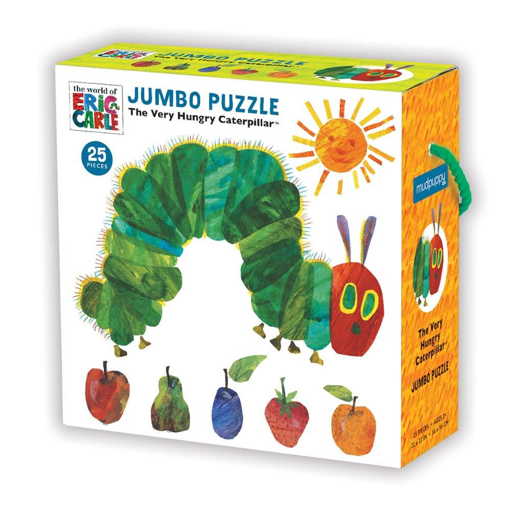 Mudpuppy The World Of Eric Carle, The Very Hungry Caterpillar Jumbo Puzzle