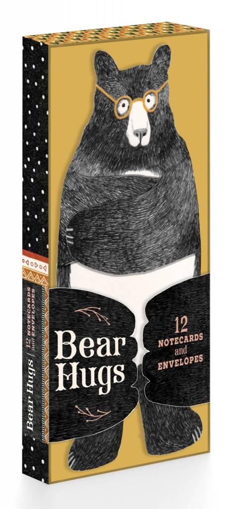Chronicle Books Bear Hugs: 12 Notecards and Envelopes