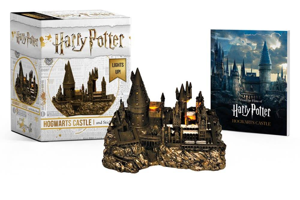 Running Press Miniature Editions Harry Potter Hogwarts Castle and Sticker Book