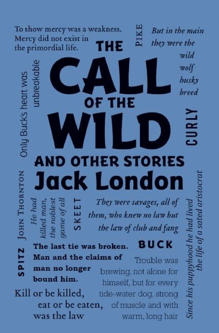 Word Cloud Classics: Call of the Wild and Other Stories
