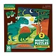 Mudpuppy Mighty Dinosaurs Magnetic Puzzle