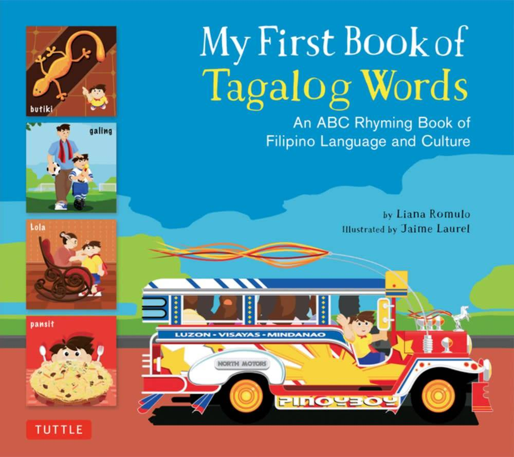 Tuttle Publishing My First Book of Tagalog Words