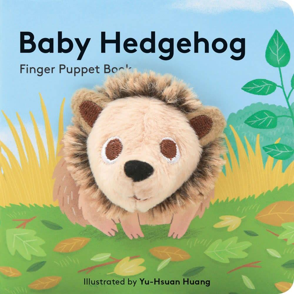 Chronicle Books Baby Hedgehog: Finger Puppet Book