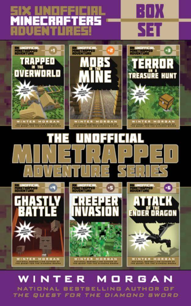 Sky Pony Press An Unofficial Minetrapped Adventure Series Box Set
