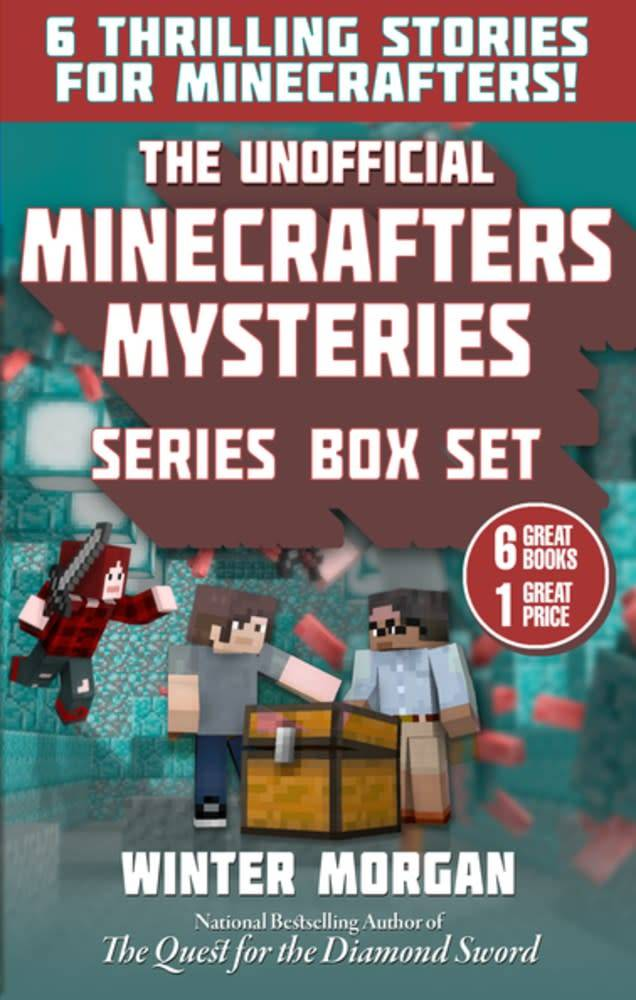 Sky Pony Press Unofficial Minecrafters Mysteries Boxed Set (6 Books)