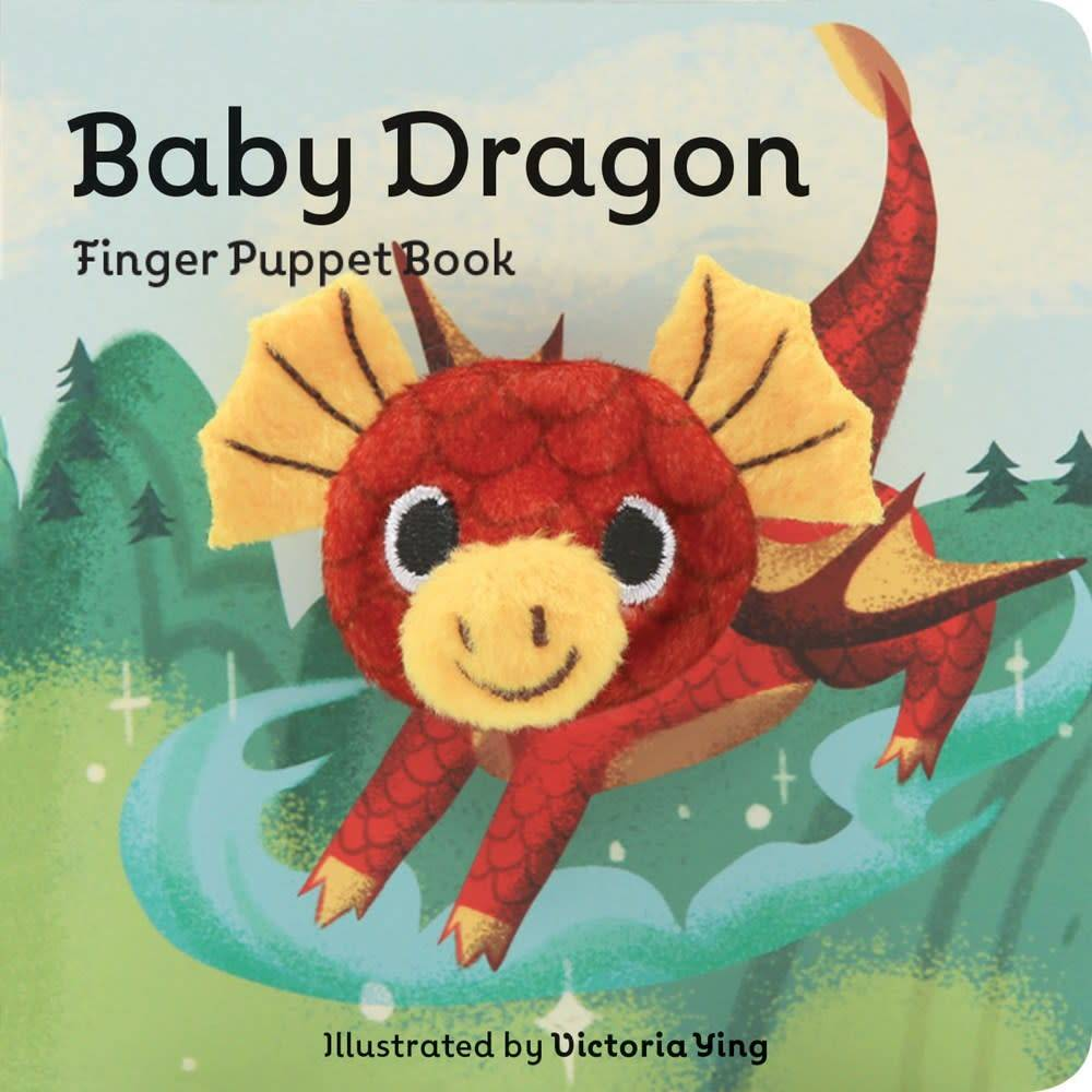 Chronicle Books Baby Dragon: Finger Puppet Book