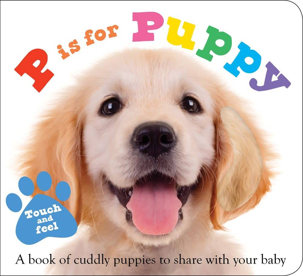 Priddy Books P is for Puppy