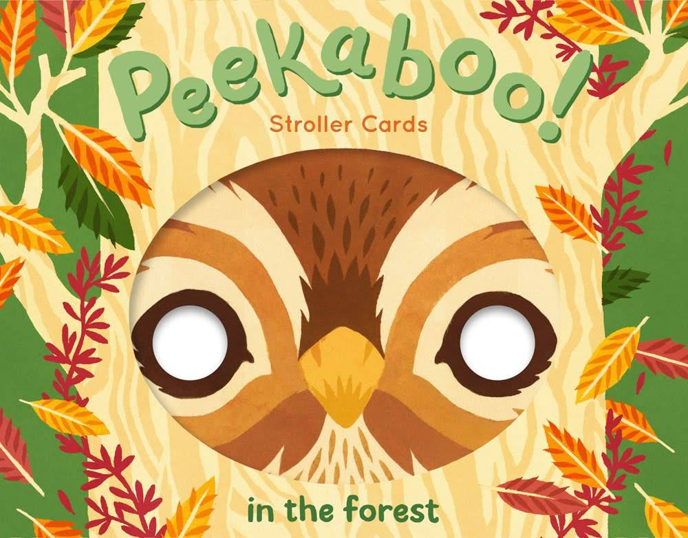 Chronicle Books Peekaboo! Stroller Cards: In the Forest