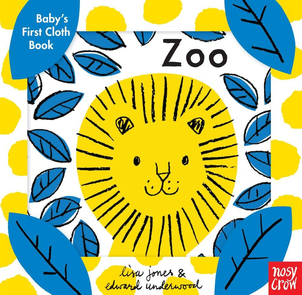 Nosy Crow Baby's First Cloth Book: Zoo